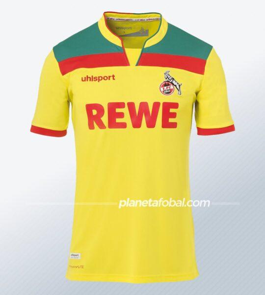 Tercera camiseta uhlsport del FC Köln 2020/21   Imagen Web Oficial