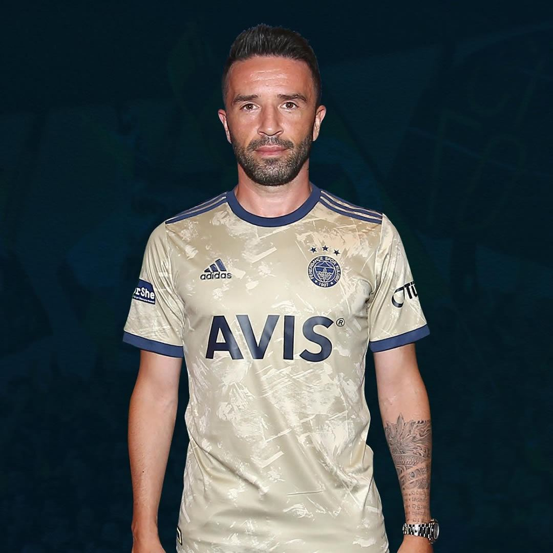 Camiseta suplente del Fenerbahçe Spor Kulübü 2020/21 | Foto Web Oficial