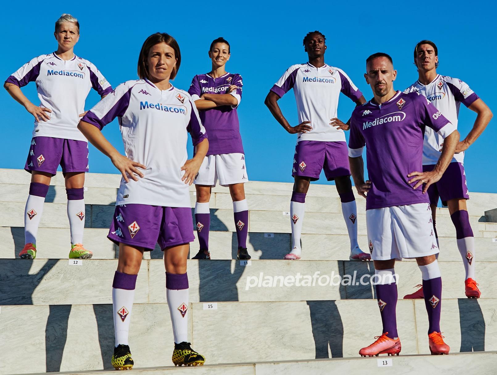 Camisetas de la Fiorentina 2020/2021 | Imagen Kappa