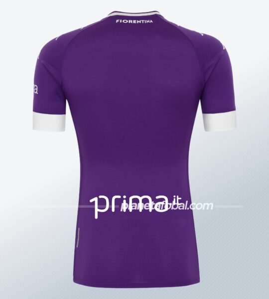 Camiseta titular de la Fiorentina 2020/2021 | Imagen Kappa