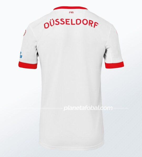 Camisetas uhlsport del Fortuna Düsseldorf 2020/21 | Imagen Web Oficial