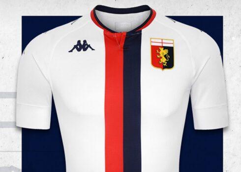 Camiseta suplente del Genoa CFC 2020/21 | Imagen Kappa