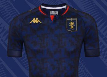 Tercera camiseta del Genoa CFC 2020/21 | Imagen Kappa