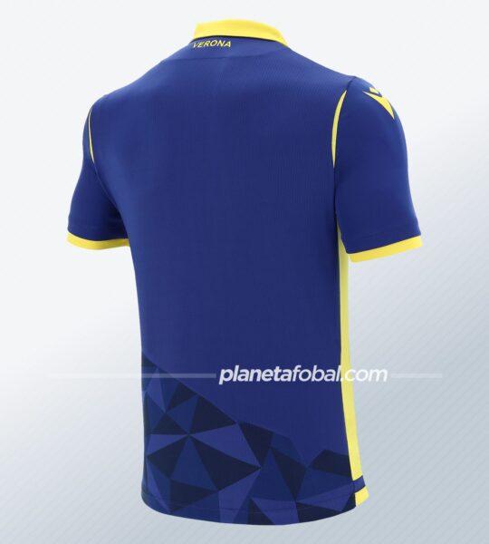 Camiseta titular Macron del Hellas Verona 2020/21 | Imagen Web Oficial