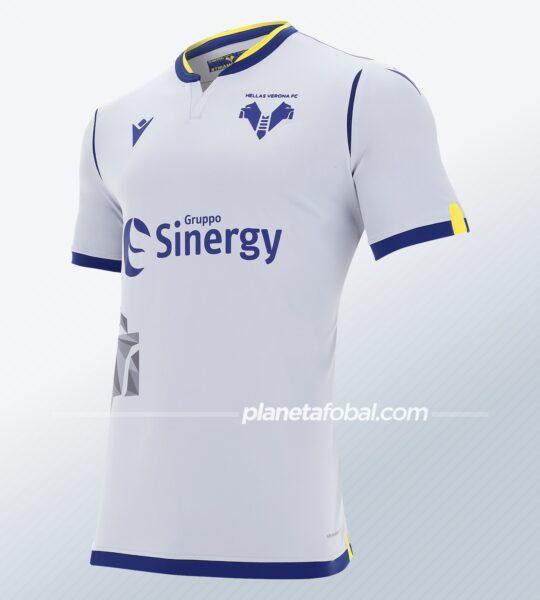 Tercera camiseta Macron del Hellas Verona 2020/21 | Imagen Web Oficial
