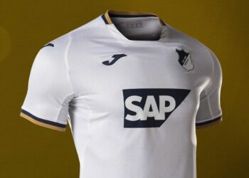 Camiseta suplente Joma del Hoffenheim 2020/21   Imagen Web Oficial