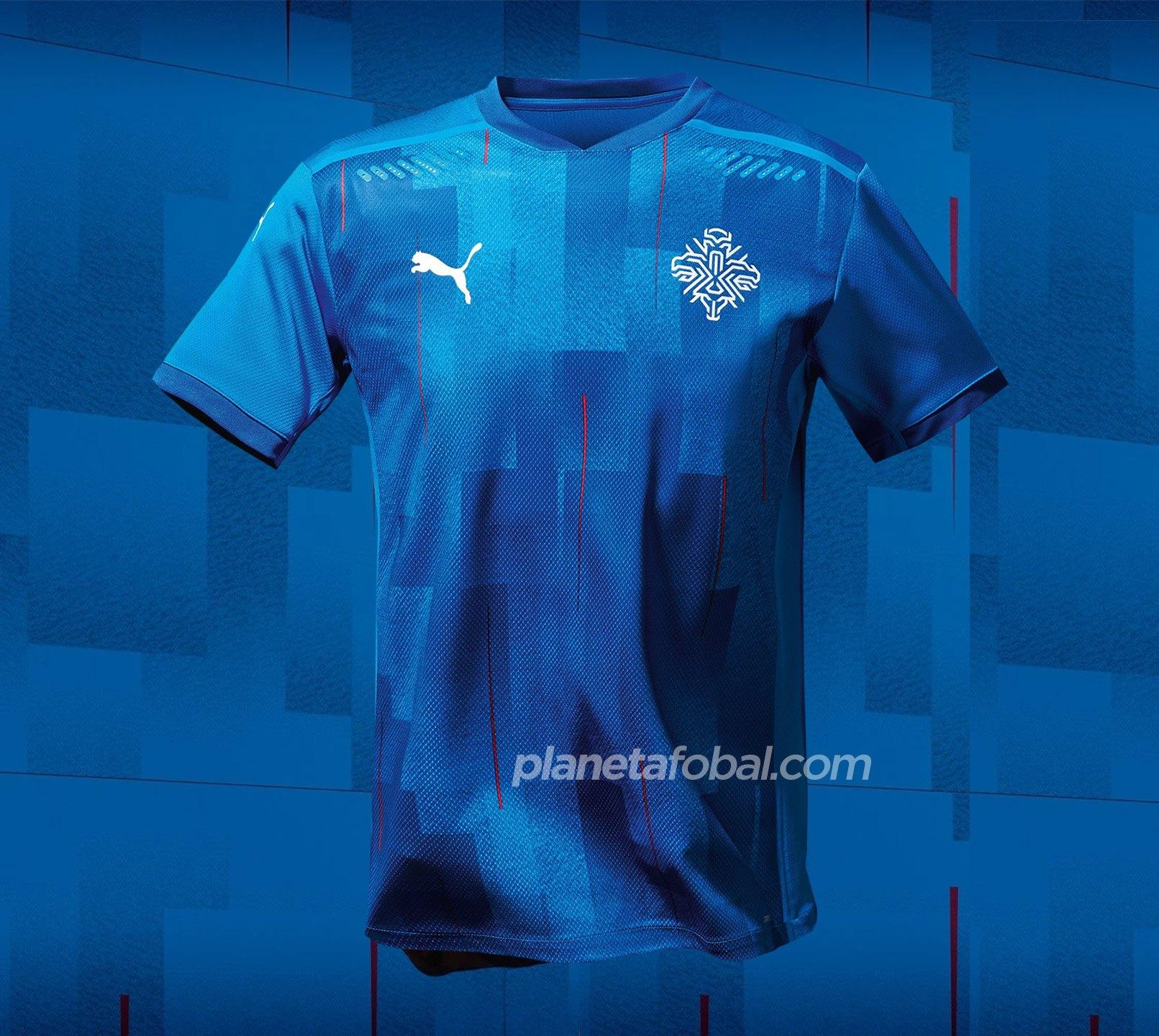 Camiseta titular de Islandia 2020/2021 | Imagen PUMA
