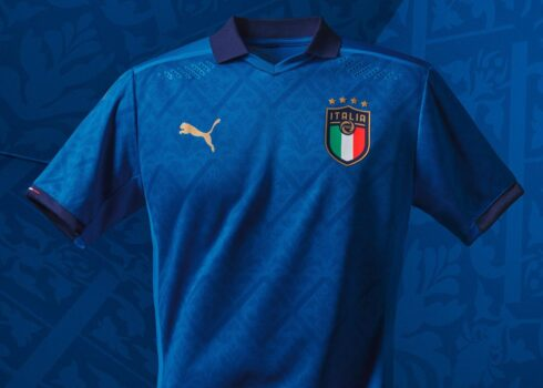 Camiseta titular de Italia 2020/2021 | Imagen PUMA