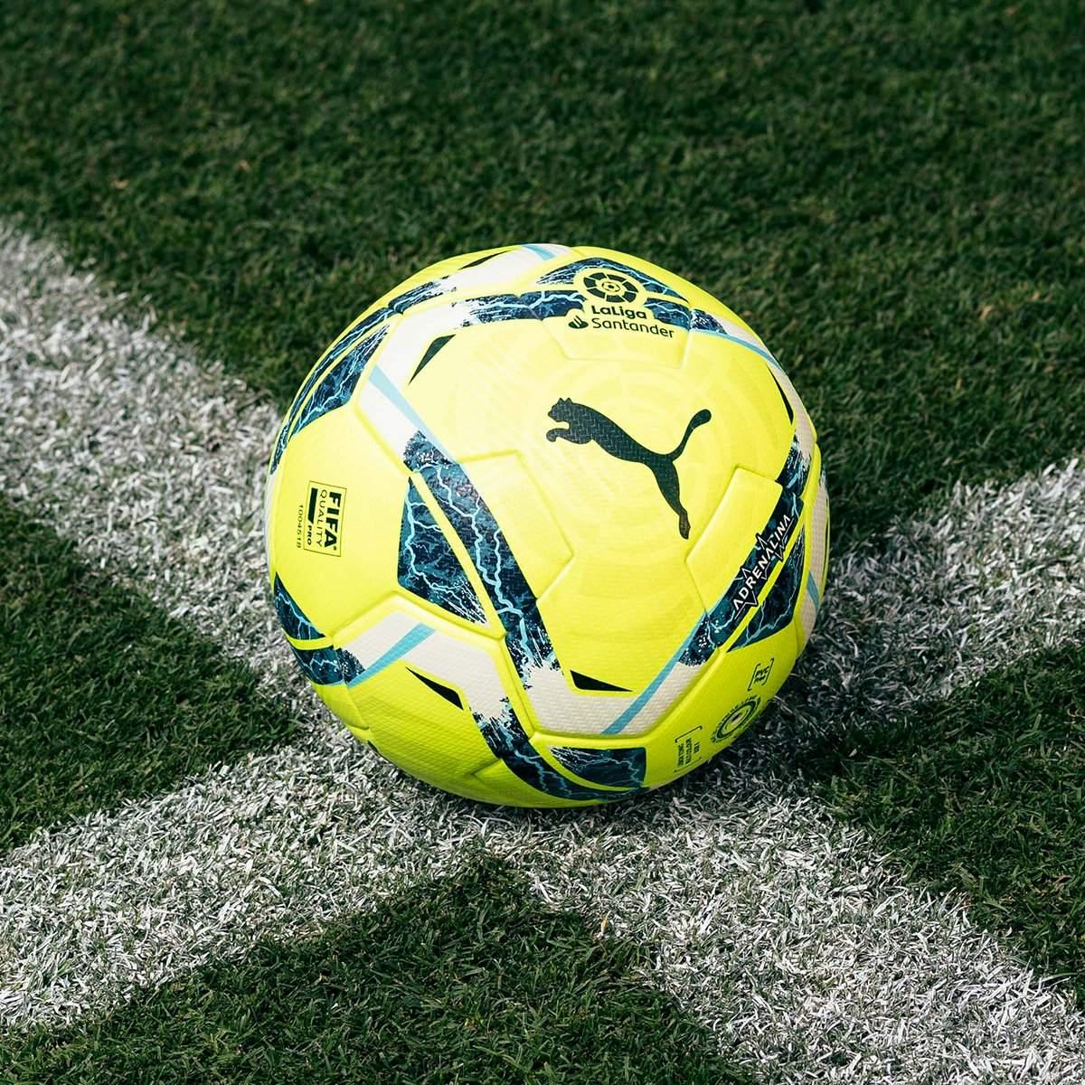 Balón Puma Adrenalina LaLiga 2020/21 | Imagen Web Oficial