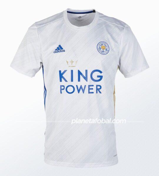 Camisetas alternativas adidas del Leicester City 2020/21   Imagen Web Oficial