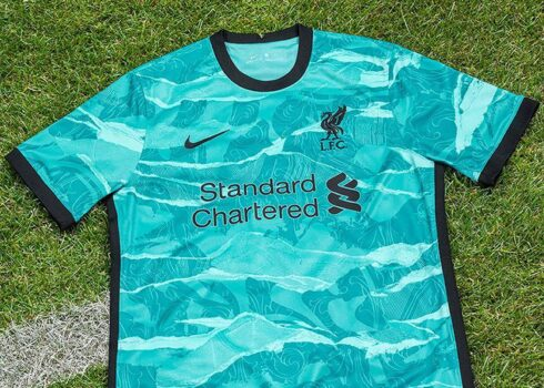 Camiseta suplente del Liverpool 2020/2021 | Imagen Nike