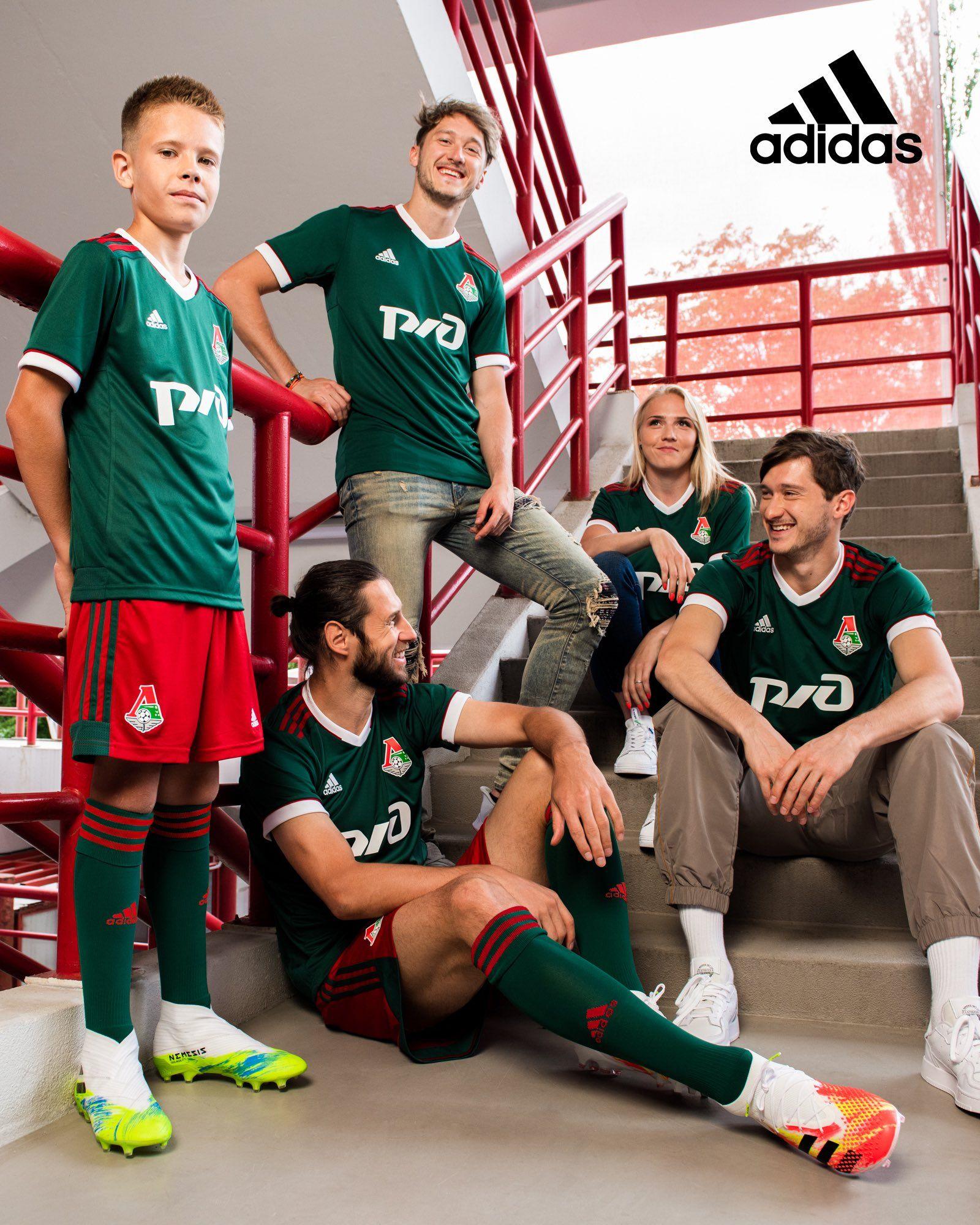 Camisetas adidas del Lokomotiv Moscú 2020/21   Imagen Web Oficial