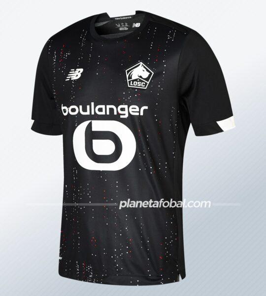 Camiseta suplente New Balance del LOSC Lille 2020/21   Imagen Web Oficial