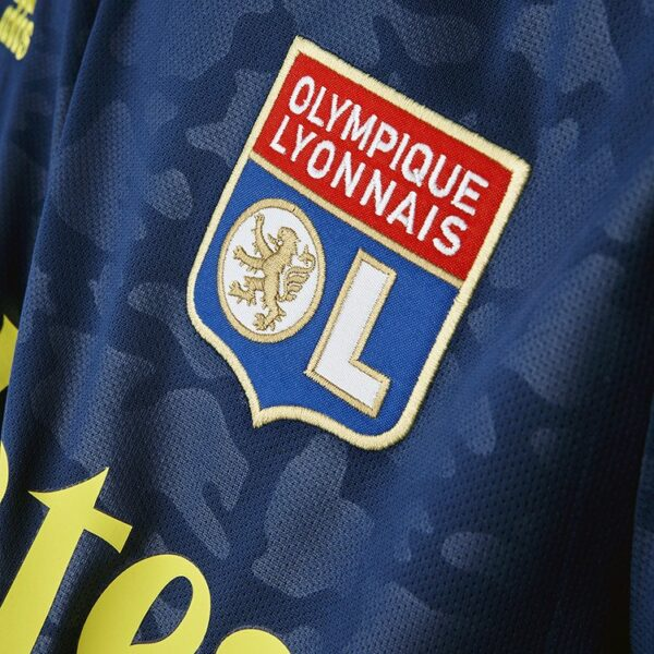 Tercera camiseta adidas del Lyon 2020/2021 | Imagen Web Oficial