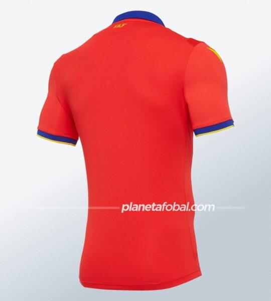 Camisetas de Andorra 2020/21 | Imagen Macron