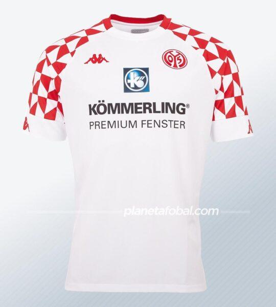 Camiseta suplente Kappa del Mainz 05 2020/21 | Imagen Web Oficial