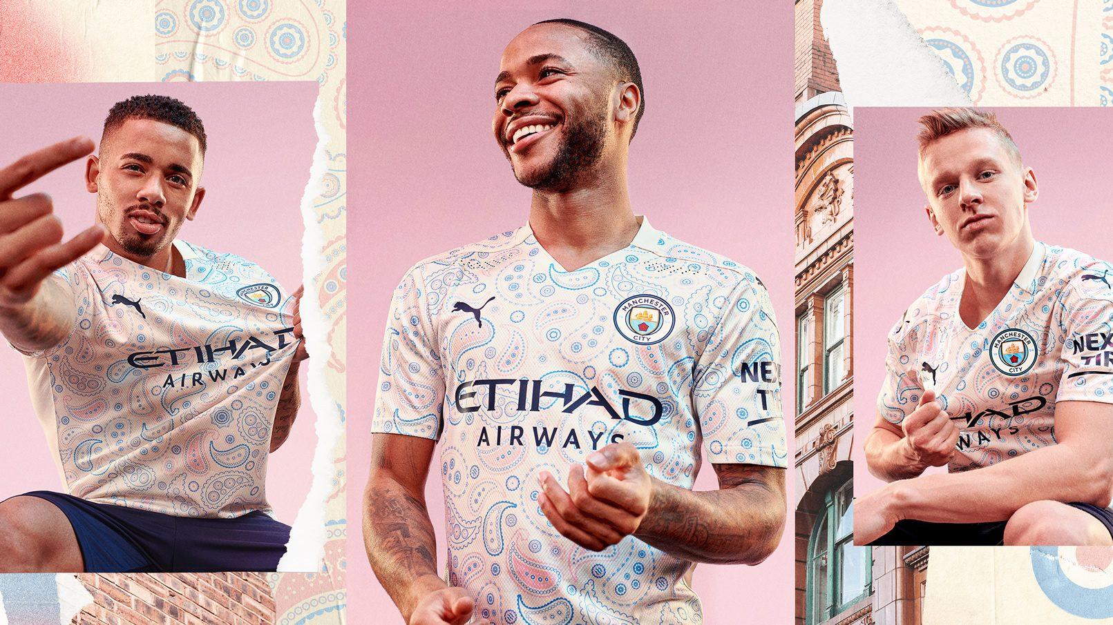 Tercera camiseta del Manchester City 2020/2021 | Imagen PUMA