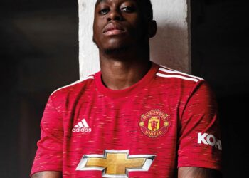 Camiseta titular del Manchester United 2020/2021 | Imagen adidas