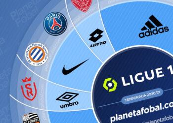 Marcas deportivas de la Ligue 1 2020/2021