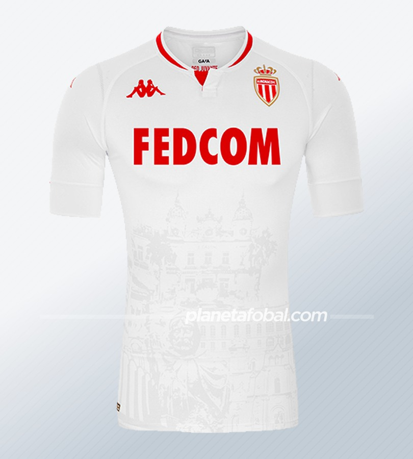 Tercera camiseta Kappa del AS Monaco 2020/2021 | Imagen Web Oficial