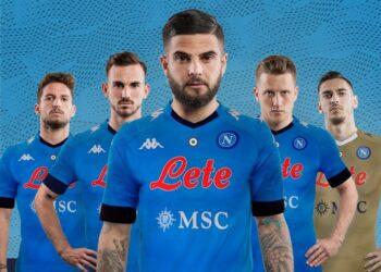 Camisetas Kappa del Napoli 2020/2021 | Imagen Twitter Oficial