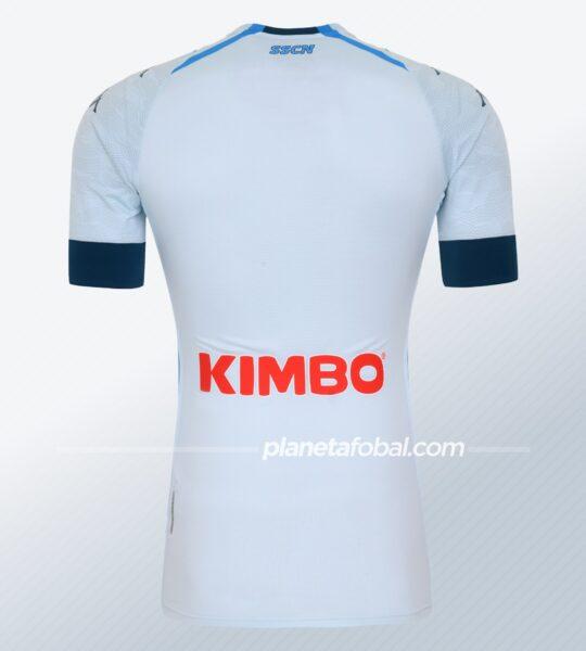 Camiseta suplente del Napoli 2020/2021 | Imagen Kappa