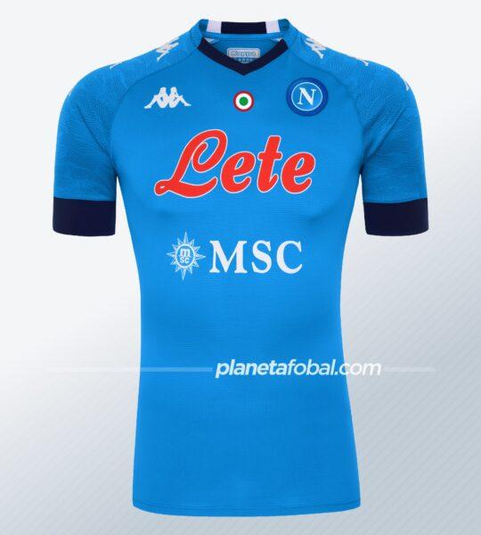 Camiseta titular del Napoli 2020/2021 | Imagen Kappa