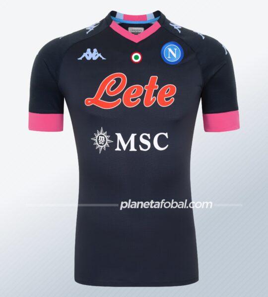 Tercera camiseta del Napoli 2020/2021 | Imagen Kappa