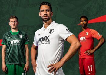 Camisetas Nike del FC Augsburg 2020/21 | Imagen Web Oficial
