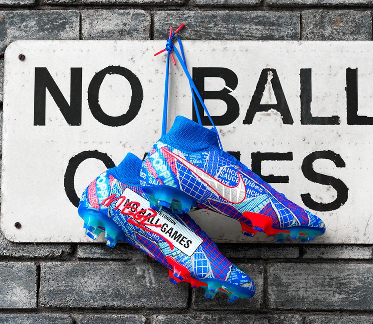 Botines Mercurial de Jadon Sancho | Imagen Nike