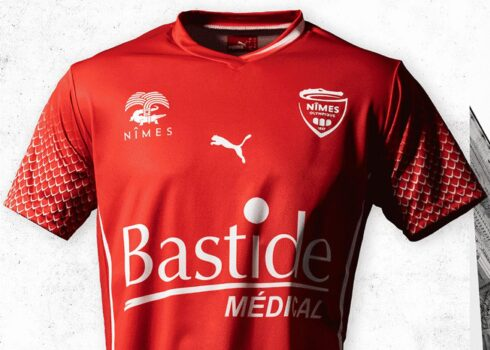Maillots Puma Nîmes Olympique 2020/21 | Image Facebook officielle