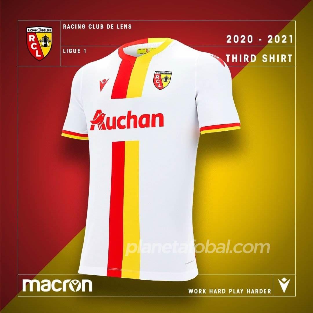 Tercera camiseta Macron del RC Lens 2020/21 | Imagen Web Oficial