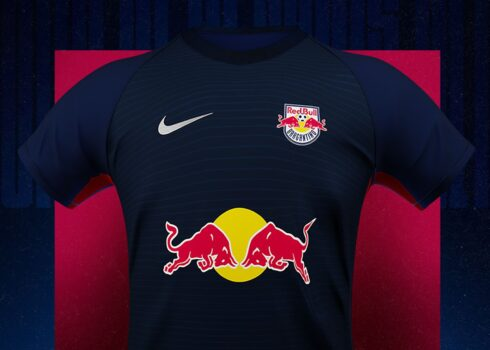 Tercera camiseta Nike del Red Bull Bragantino 2020/21 | Imagen Twitter Oficial