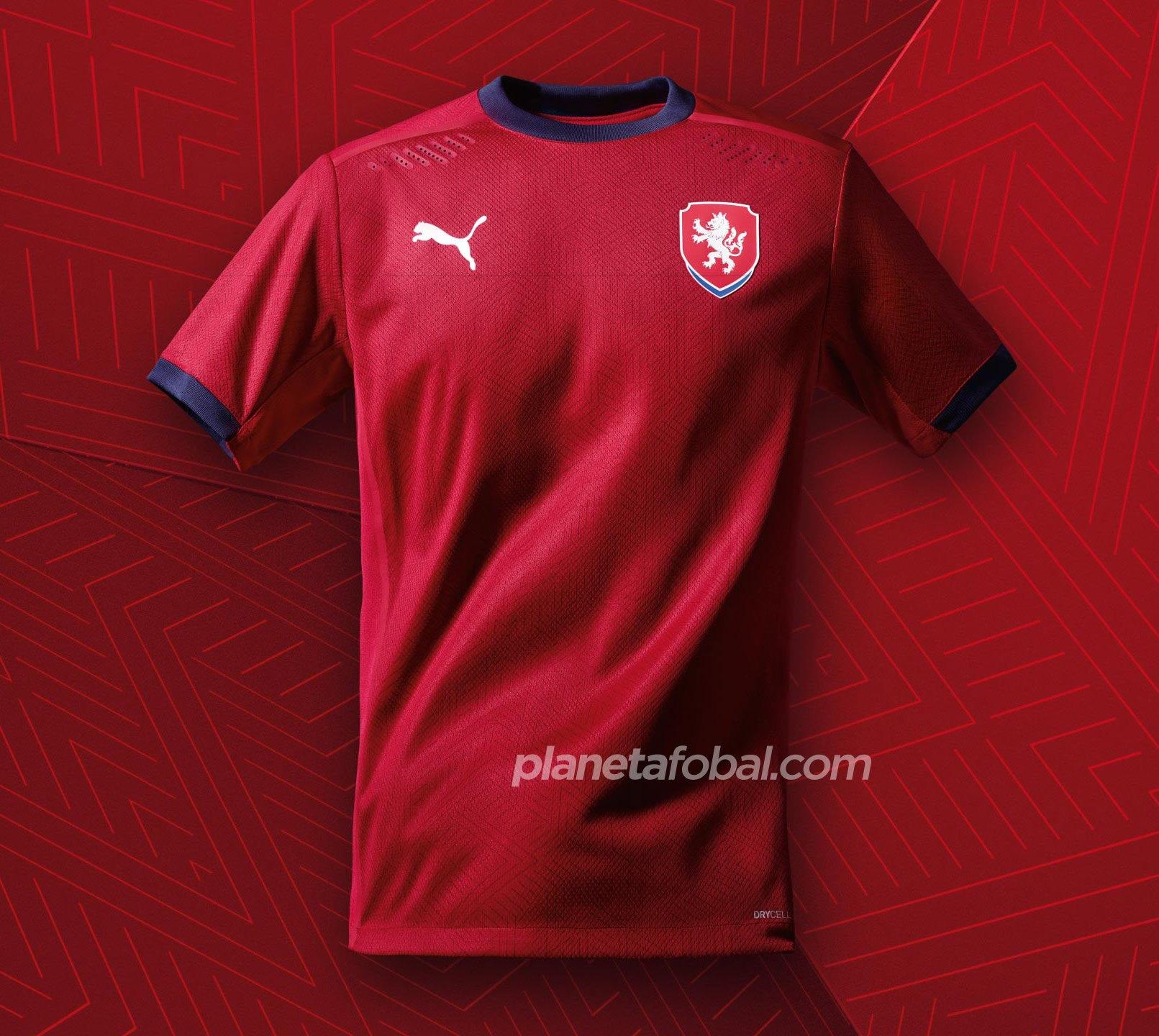 Camiseta titular de República Checa 2020/2021 | Imagen PUMA