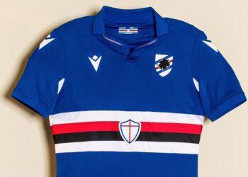 Camisetas Macron de la Sampdoria 2020/21 | Imagen Web Oficial