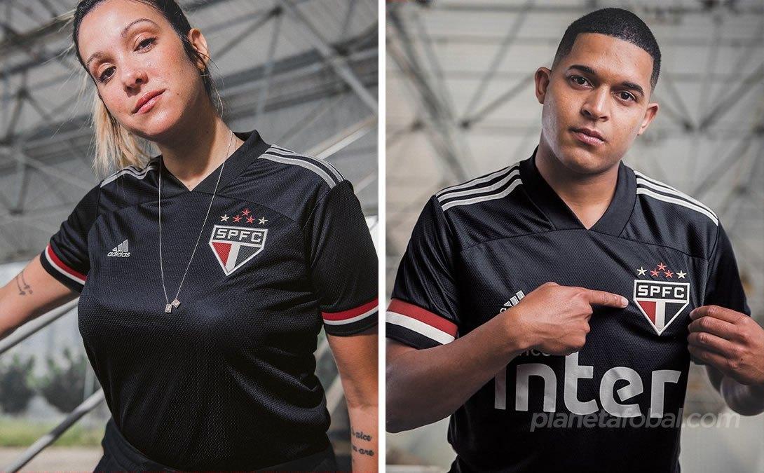 Tercera camiseta adidas del São Paulo 2020/21 | Imagen Twitter oficial