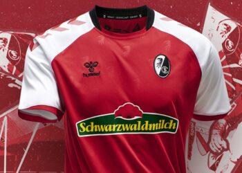 Camiseta Hummel del SC Freiburg 2020/21   Imagen Web Oficial