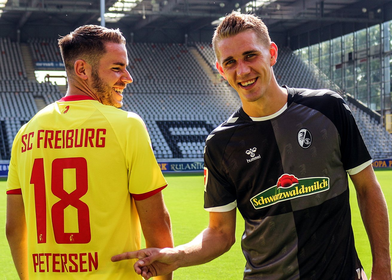 Camisetas alternativas Hummel del SC Freiburg 2020/21 | Imagen Web Oficial