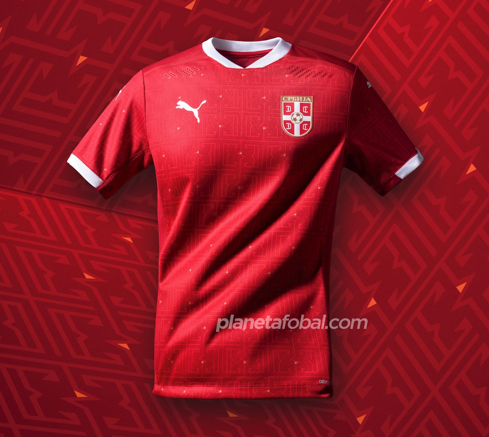 Camiseta titular de Serbia 2020/2021 | Imagen PUMA