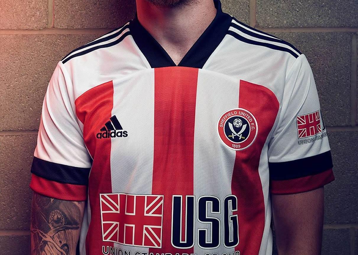 Camiseta adidas del Sheffield United 2020/21   Imagen Web Oficial