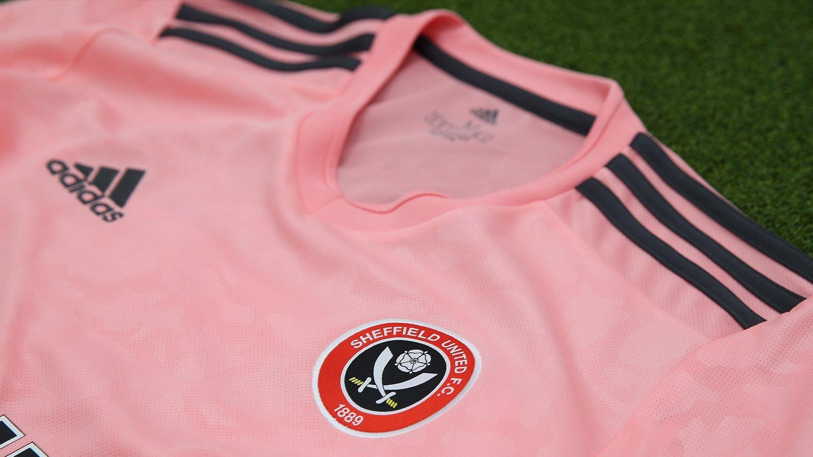Camiseta suplente adidas del Sheffield United 2020/21   Imagen Web Oficial