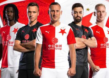 Camisetas Puma del Slavia Praga 2020/21 | Imagen Web Oficial