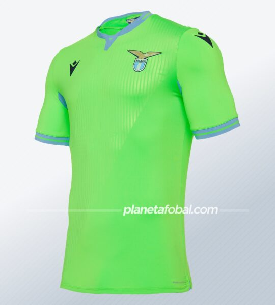 Camiseta suplente de la Lazio 2020/2021 | Imagen Macron