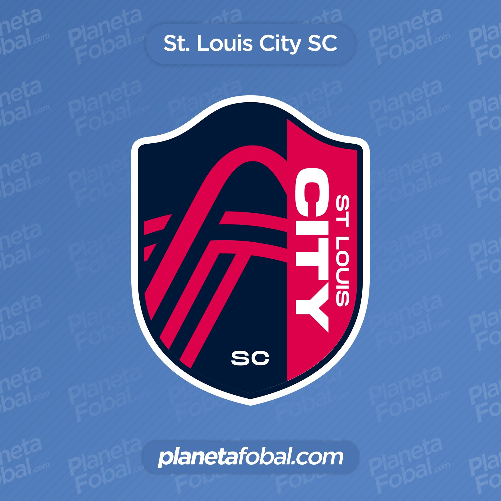 Nuevo escudo del St. Louis City SC   Imagen Web Oficial