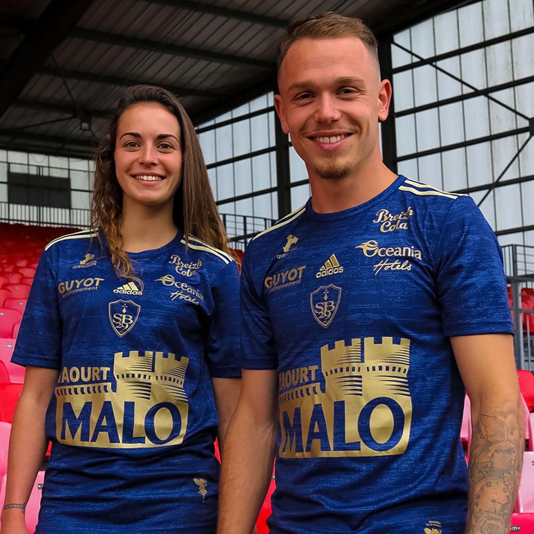 Camisetas adidas del Stade Brestois 2020/21 | Imagen Twitter Oficial
