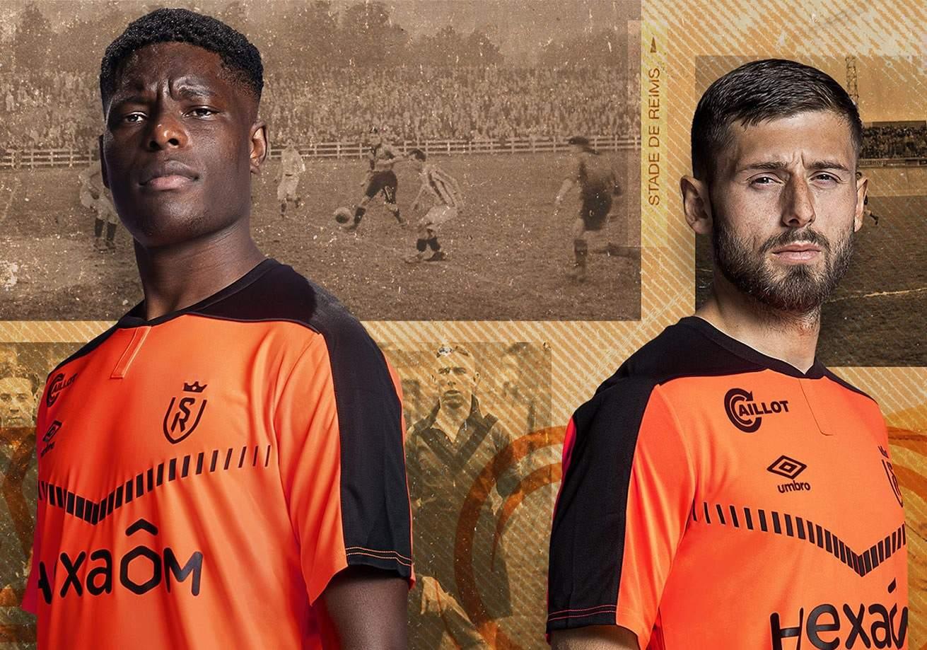 Tercera camiseta Umbro del Stade de Reims 2020/21   Imagen Web Oficial