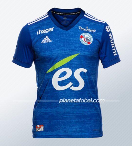 Camisetas adidas del RC Strasbourg Alsace 2020/21 | Imagen Web Oficial