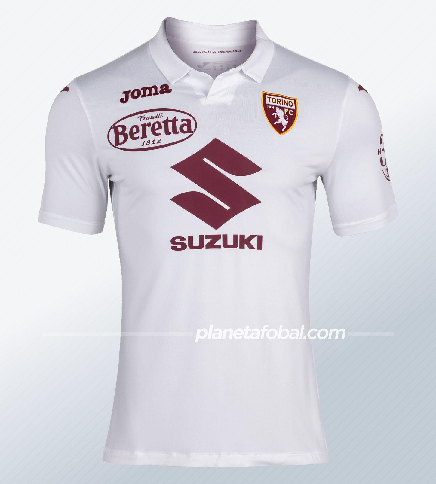 Cmisetas Joma del Torino 2020/21 | Imagen Twitter Oficial
