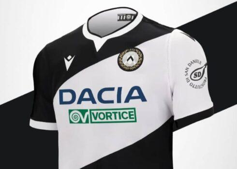 Udinese Macron Shirt 2020/21   Image du site officiel