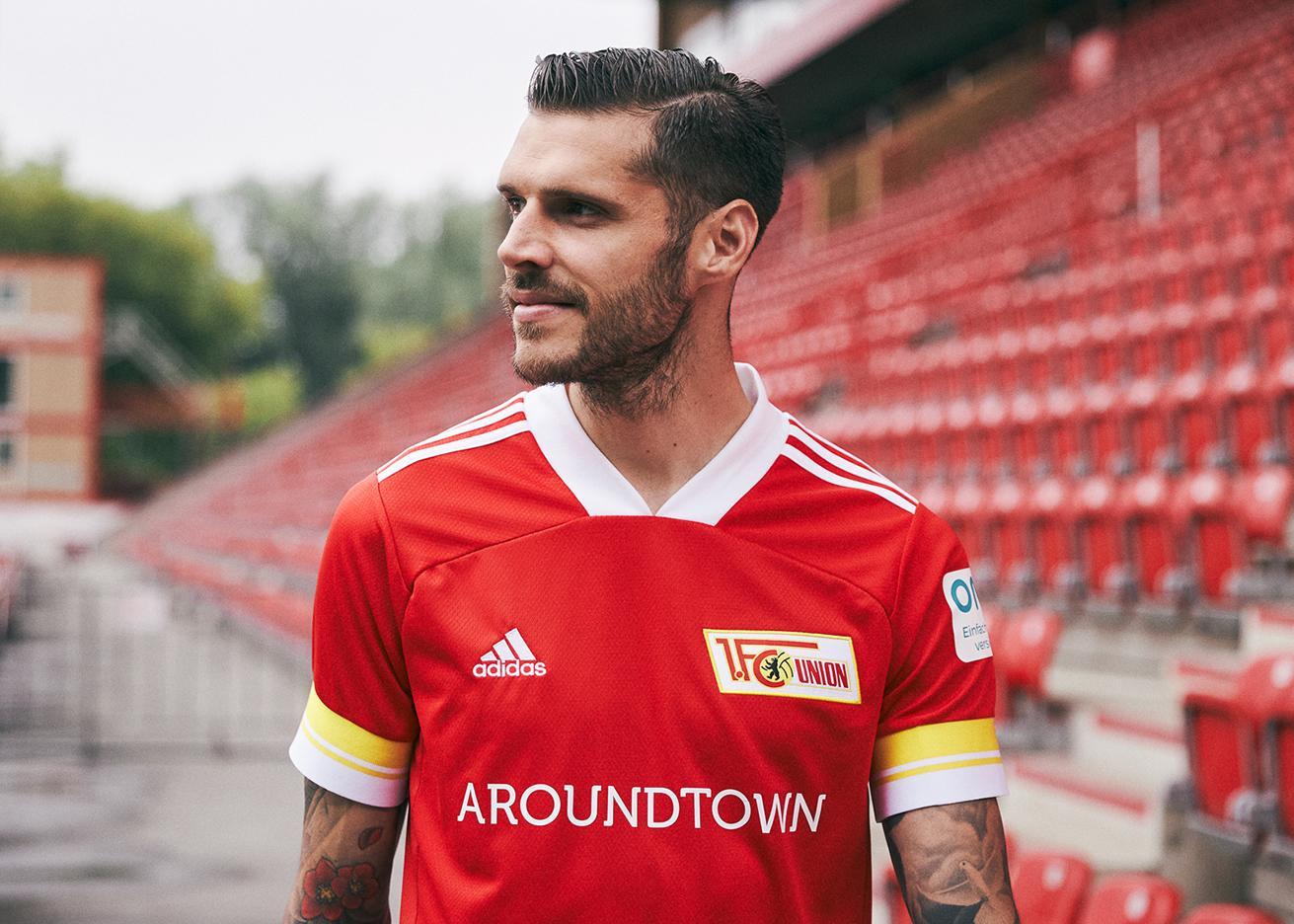 Camiseta adidas del FC Unión Berlín 2020/21   Imagen Web Oficial